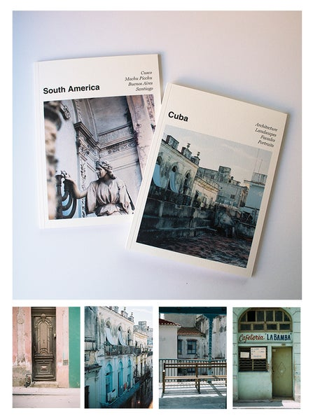 Image of Cuba & South America Travel Photo Books (sold as a set)