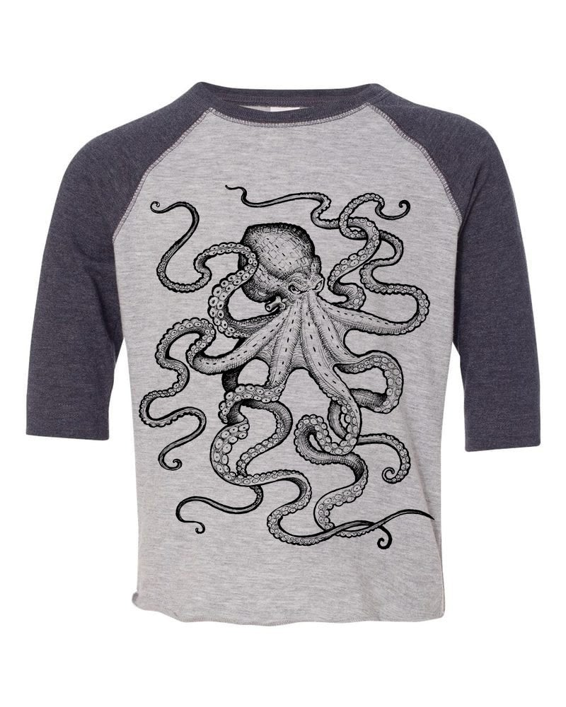 Image of Octopus Toddler Bball Tee