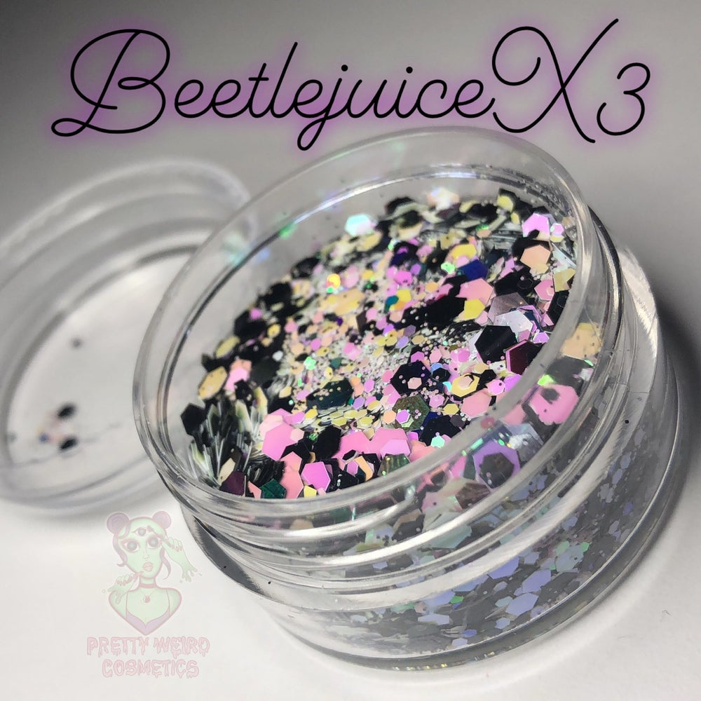 Image of BEETLEJUICEX3 Chunky Glitter