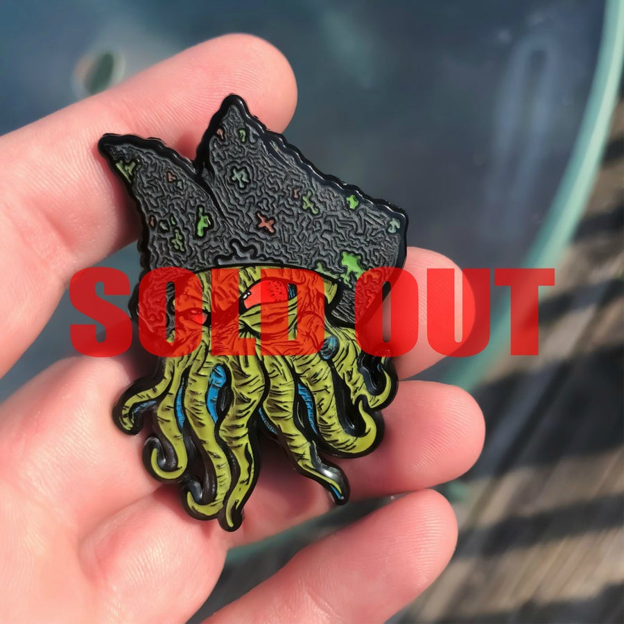 Image of Navy Davy Pin (P&P Expo Leftovers)