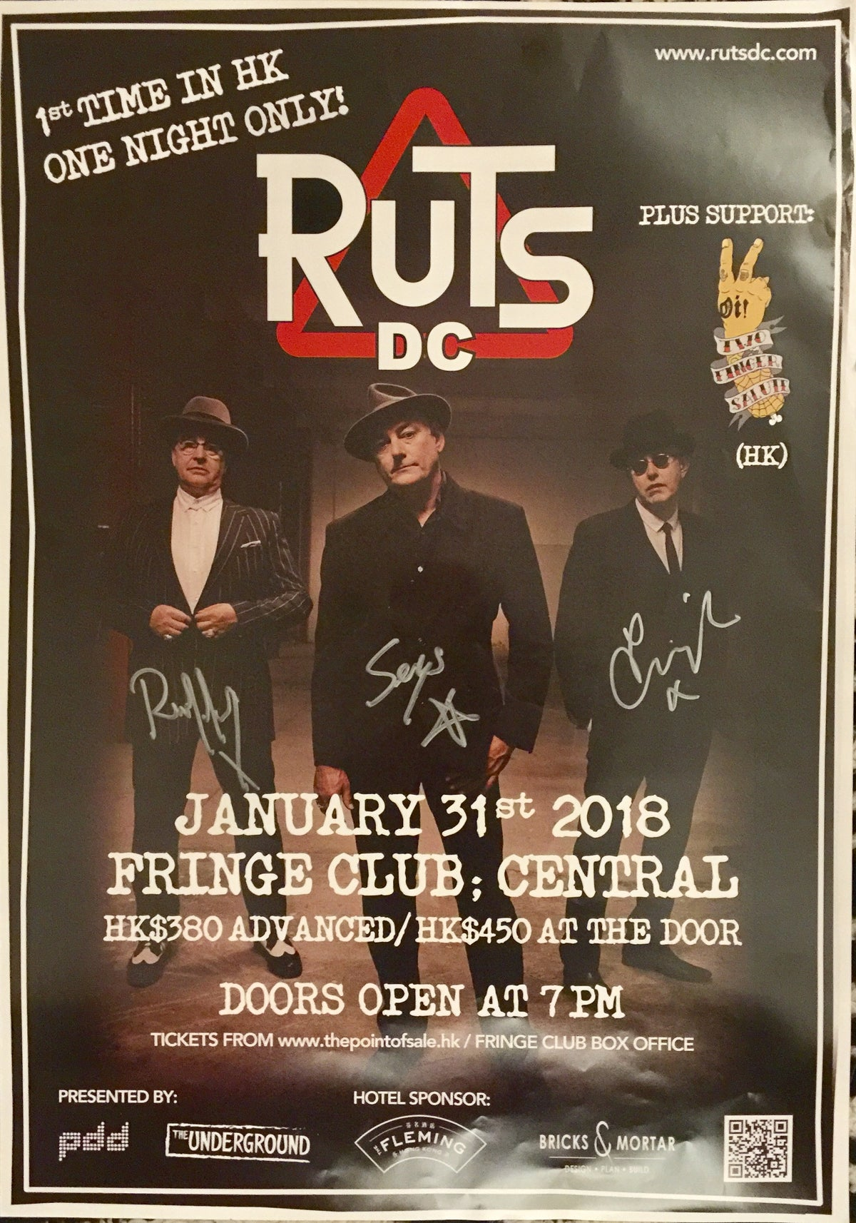 Image of Ruts DC in Hong Kong Poster