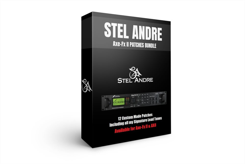 Image of Stel Andre Axe-Fx II & AX8 Custom Patches Bundle