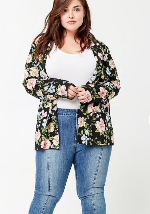 Image of Floral Soft Blazer