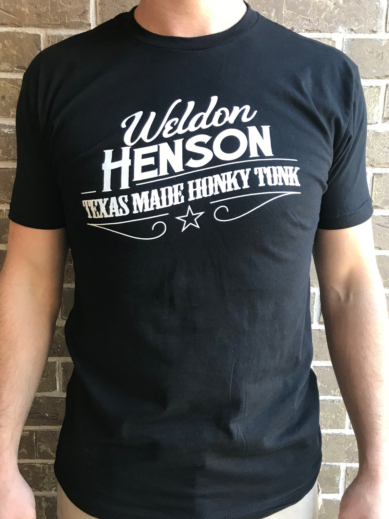 Image of T-Shirt Texas Made Honky Tonk Logo