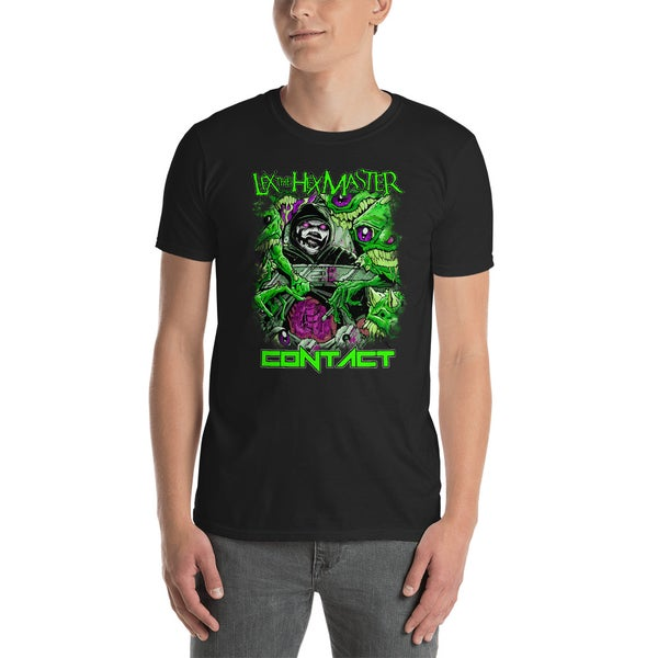 Image of Lex The Hex Master Contact Abduction Shirt