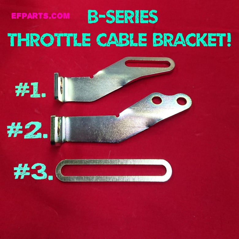 Image of Throttle Cable Bracket  Sohc to Dohc 100% Brand New  B16 Oem / B16 Skunk2