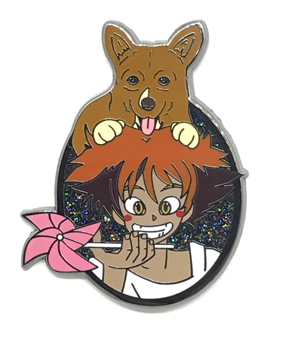 See You Space Cowgirl Hard Enamel Pin
