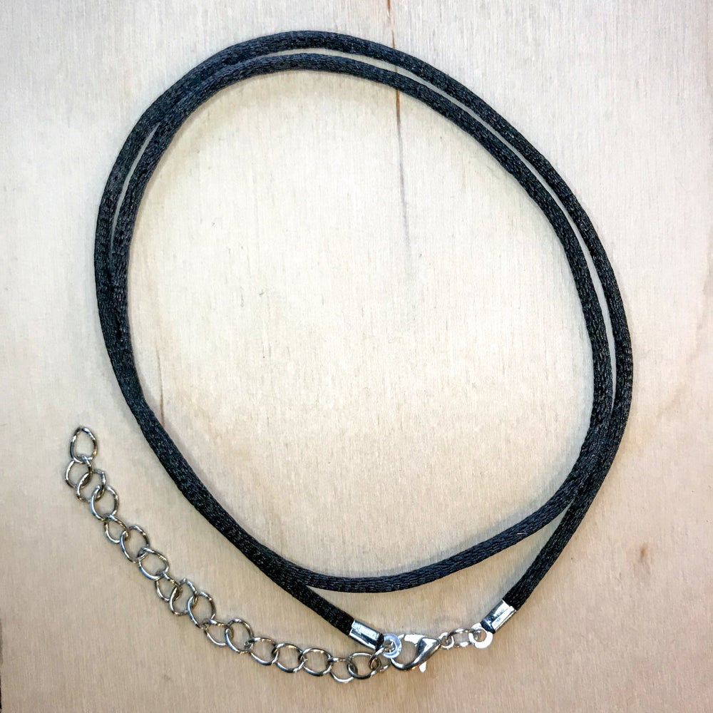 Image of Nylon Necklace w/Clasp