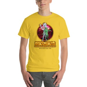 Image of Warped Realms Disconauts Tee Gold