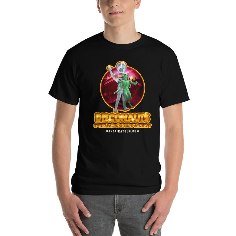 Image of Warped Realms Disconauts Tee Black