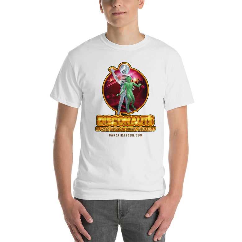 Image of Warped Realms Disconauts Tee White
