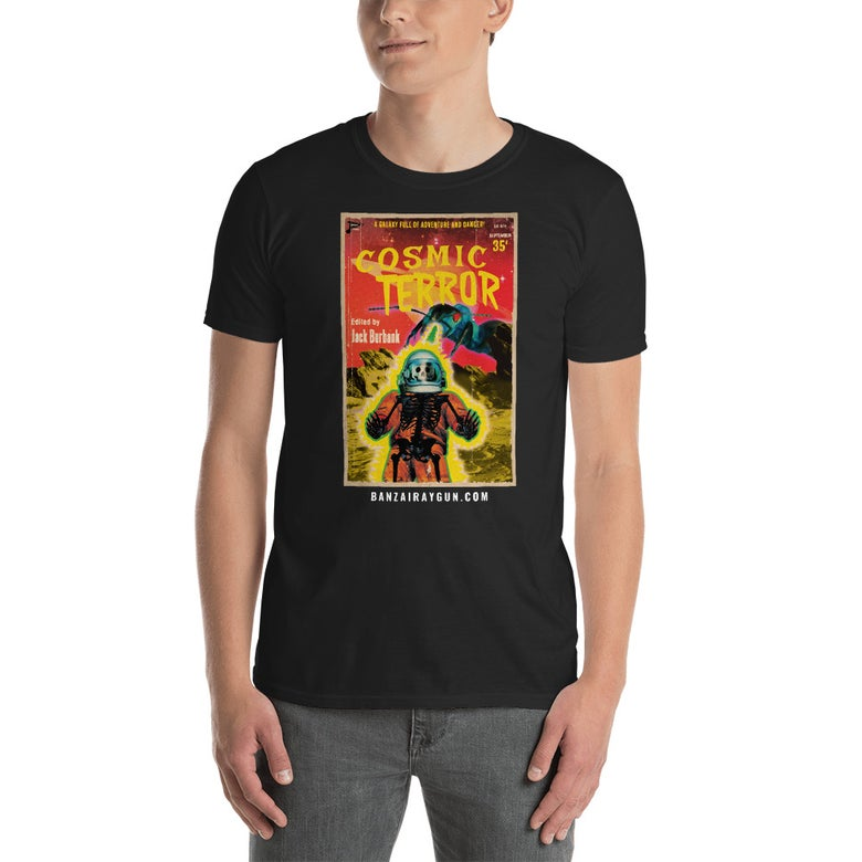 Image of Cosmic Terror Pulp Cover T-Shirt