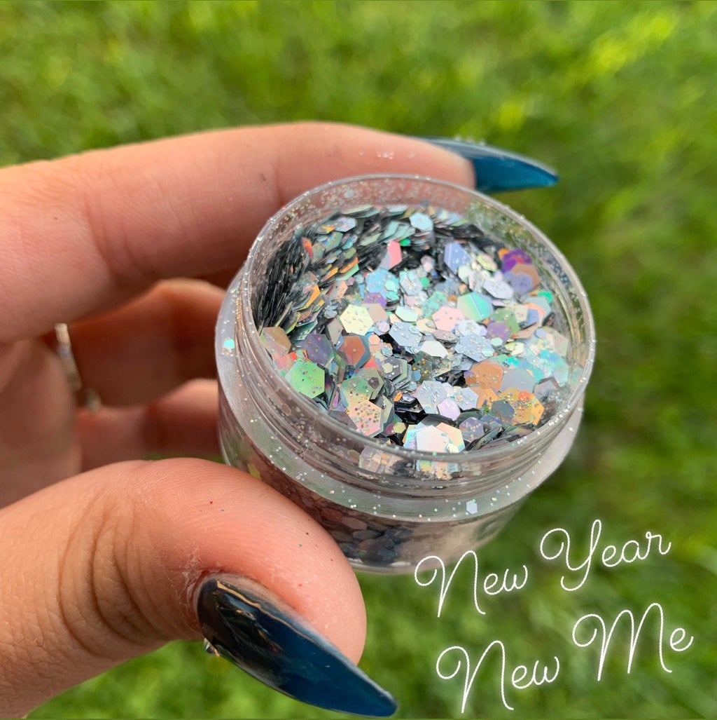 Image of New Year New Me Chunky Glitter
