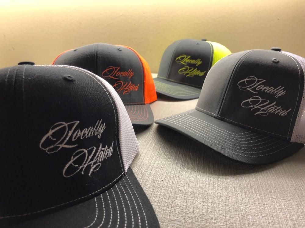 Image of Richardson snap back locally hated hat