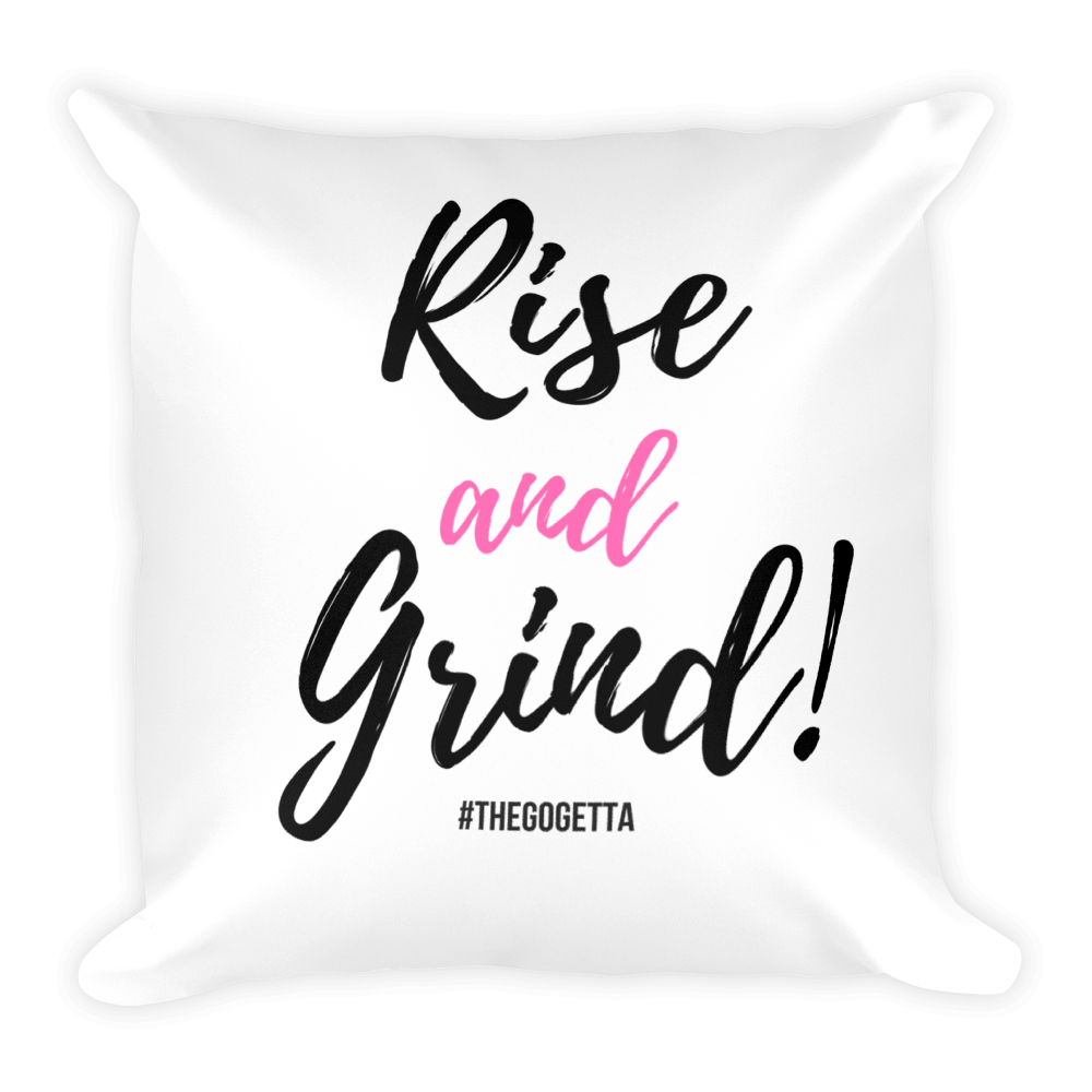 Image of Rise and Grind! Pillow