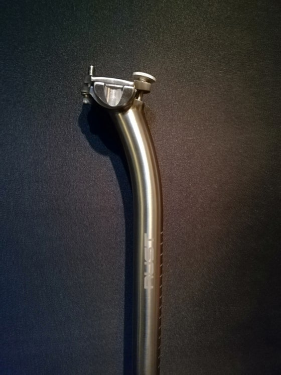Image of Rust titanium lay Back Seatpost