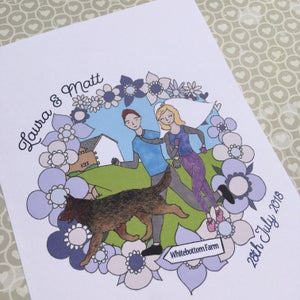 Image of Personalised Wedding Invitations