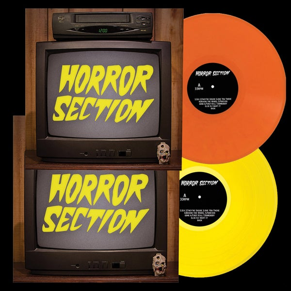 "Image of LP/CD: Horror Section ""Horror Section"""