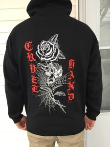 Image of Skull and Roses hoody