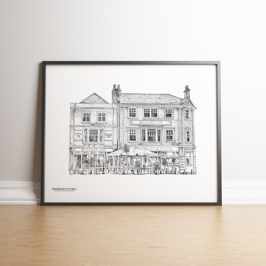 Image of Dunkerley's of Deal - limited edition print