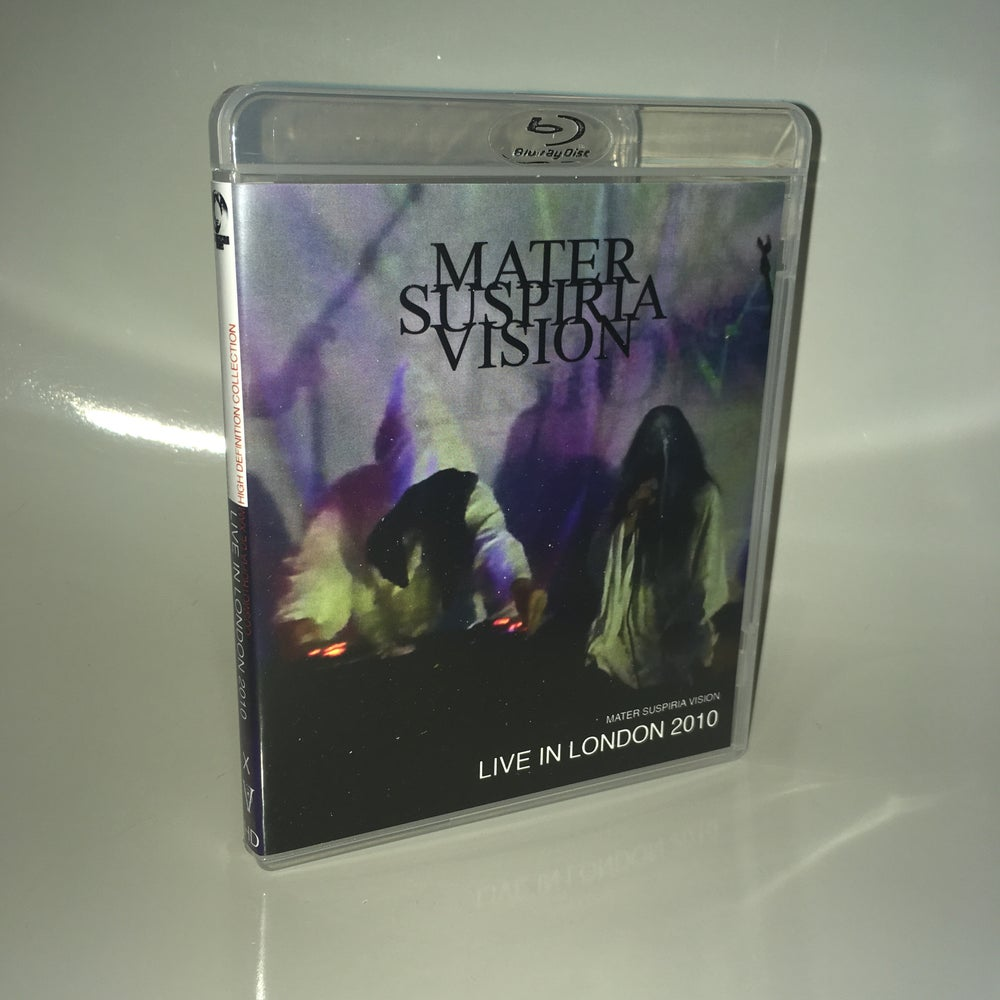 Image of LIMITED 33 MATER SUSPIRIA VISION - LIVE IN LONDON BLU-RAY-R (9 YEAR ANNIVERSARY SPECIAL) DESIGN A