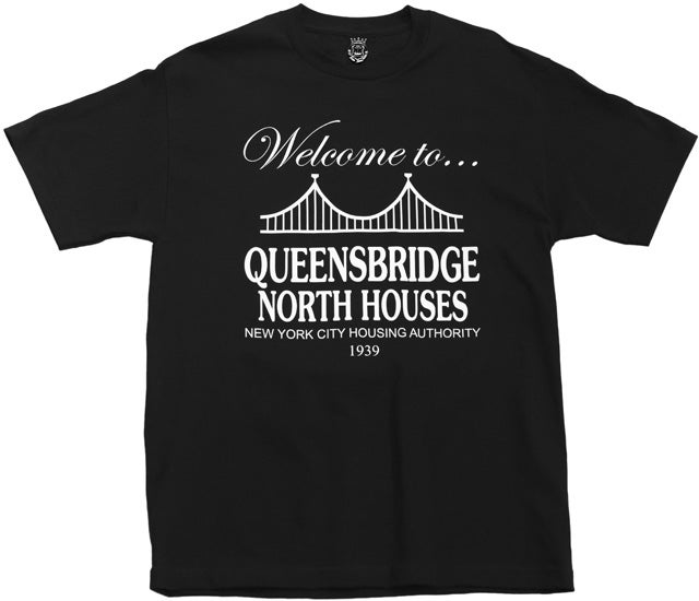 Image of Queensbridge T-Shirt Black XXL