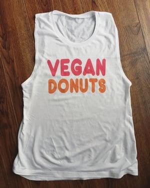 Image of Vegan Donuts Dunkin Donuts t-shirt