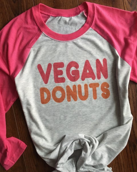 Image of Vegan donuts Dunkin' Donuts 3/4 sleeve