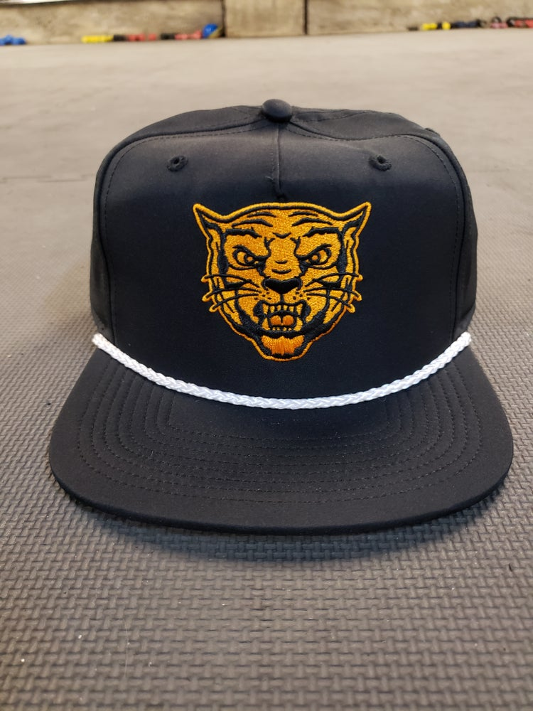 Image of Nike Dry-Fit Hat (Black/Orange/White)
