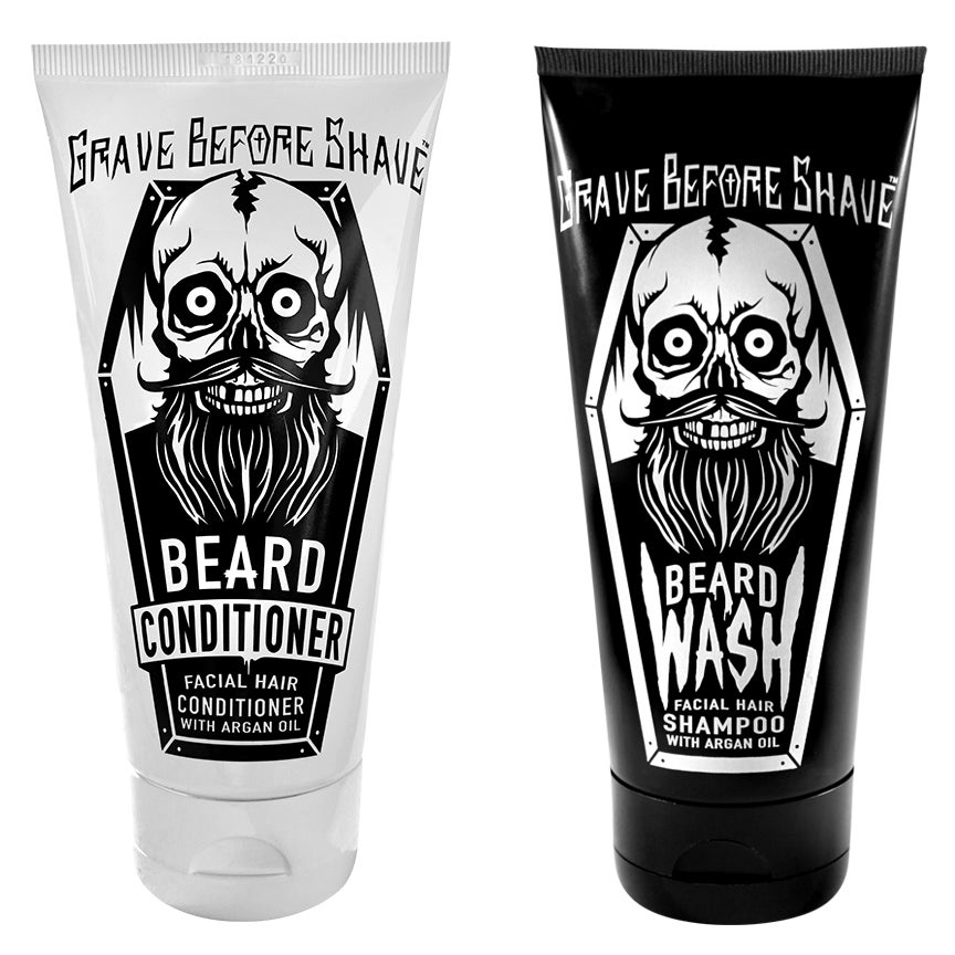 Image of GRAVE BEFORE SHAVE™  BEARD Wash & Conditioner Pack