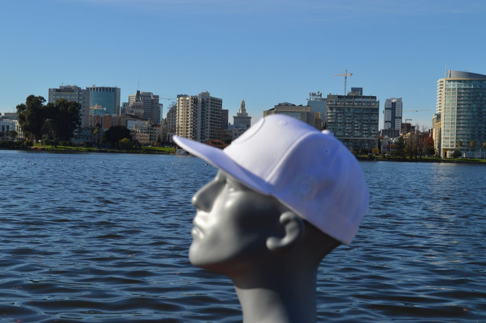 Image of The O White On White Snapback
