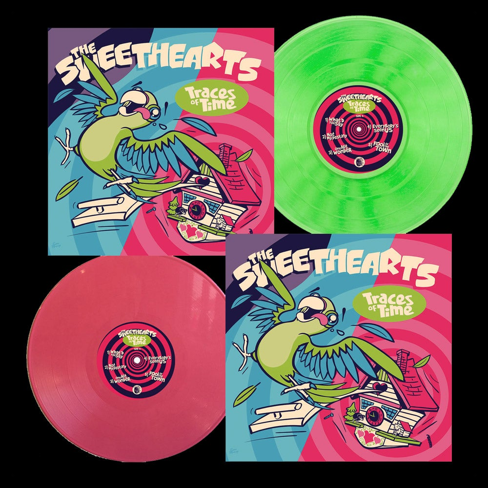 "Image of LP / CD:  The Sweethearts ""Traces of Time"""