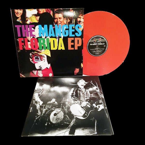 "Image of 12"" EP: The Manges ""Florida"""