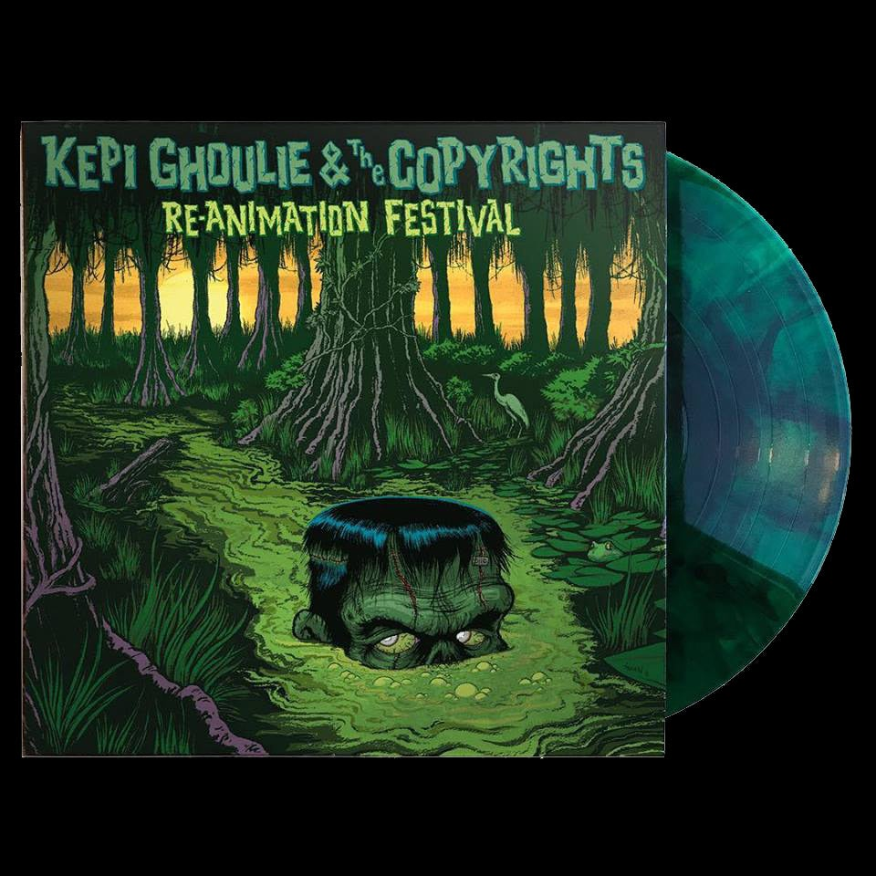 "Image of LP/CD: Kepi and the Copyrights ""Re-Animation Festival"""