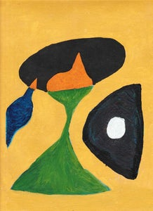 Image of Portrait of a Girl, after Miro