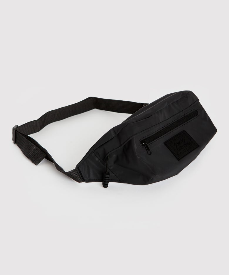 Image of BLACK REFLECTIVE BAG