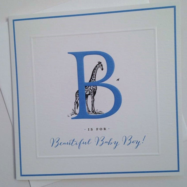 Image of Beautiful Baby Boy Card
