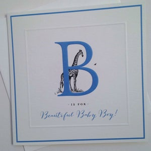 Image of Beautiful Baby Boy Card
