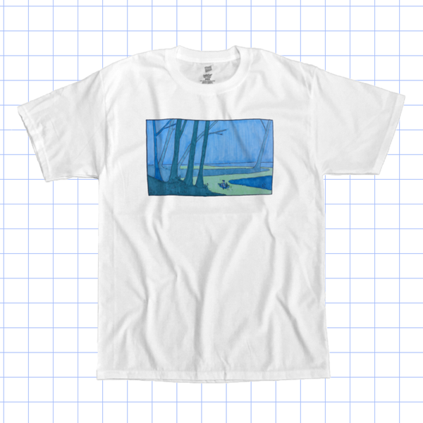 Image of Blue and Moody Tee