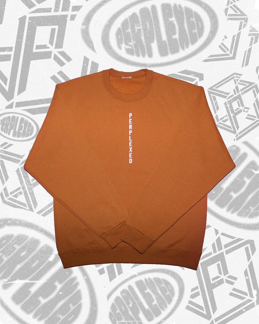 Image of SPLIT CUBE Burnt Orange Crewneck