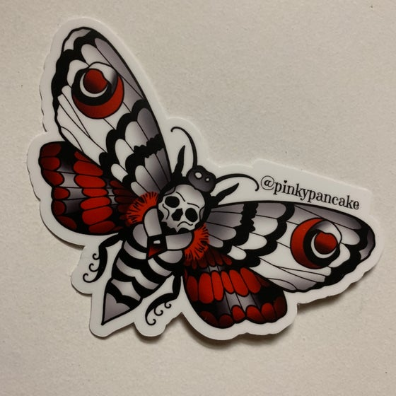 Image of Moth sticker
