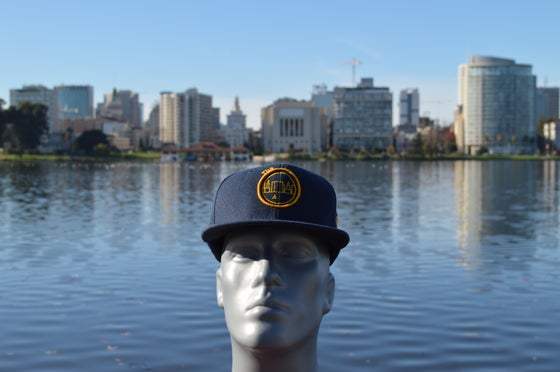 Image of The O Cal Blue And Gold Snap Back