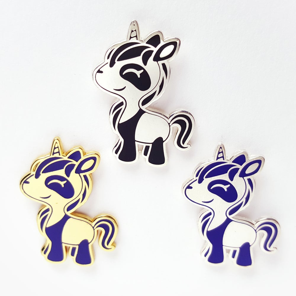 Image of Panda Unicorn Enamel Pins