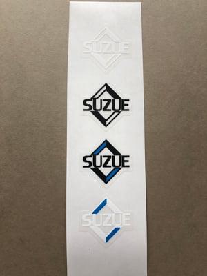Image of Suzue Diamond Hub Decals (pair)