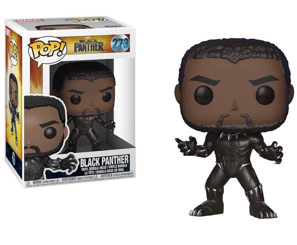 Image of Funko Pop Black Panther Vinyl Figure