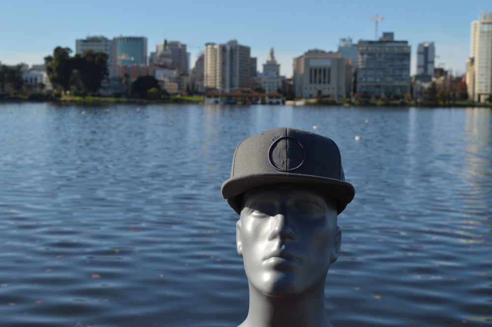 Image of The O Gray on Gray Tone Snap Back