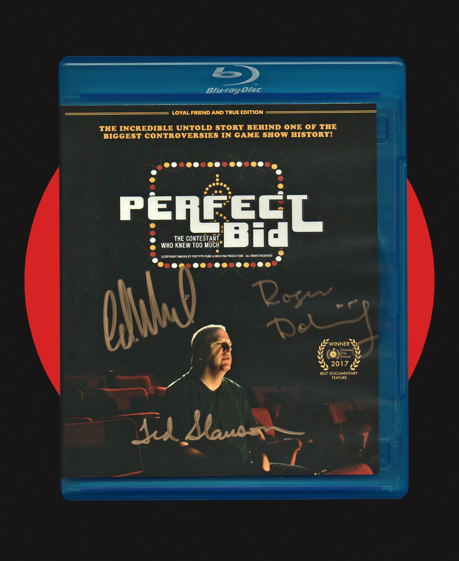 "Image of PERFECT BID: ""LOYAL FRIEND AND TRUE"" LIMITED EDITION BLU-RAY"