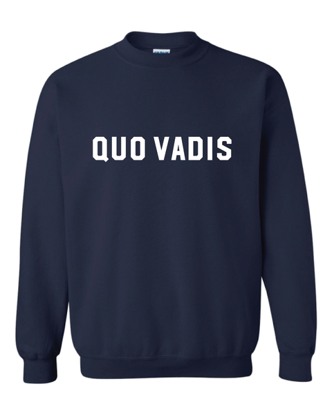 Image of Navy Blue Sweatshirt