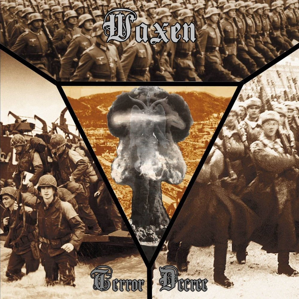 "Image of Waxen ""Terror Decree"" CD 2018"