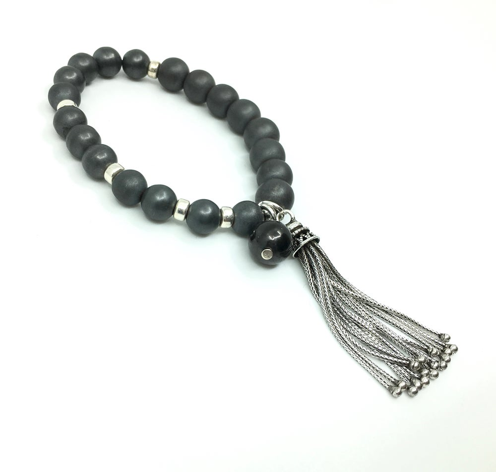 Image of Long Tasseled Wrist Mala